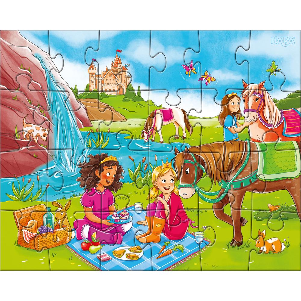 HABA 3 Haba puzzels 'Paardenvriendinnen'