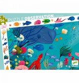 Djeco Djeco zoekpuzzel Aquarium (4+ 54 stuks)