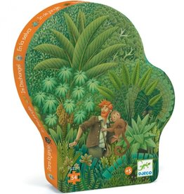 """Djeco Puzzel """"Jungle"""" 54 stukjes"""
