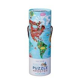 Janod World City Poster Puzzel