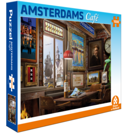 Story Factory Amsterdam cafe 1000 st puzzel