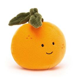 Jellycat Vrolijke Sinaasappelknuffel