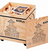 Kapla 1000 bouwplankjes in stoere kist
