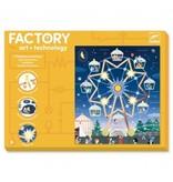 Djeco Factory Lichtkaarten Kermis