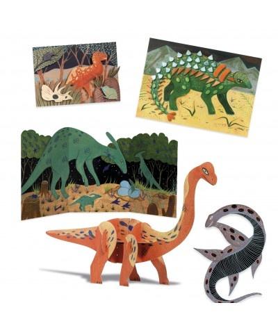 Djeco Een creatieve Dino themadoos