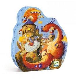 Djeco Vaillant en de draken - 54 pcs
