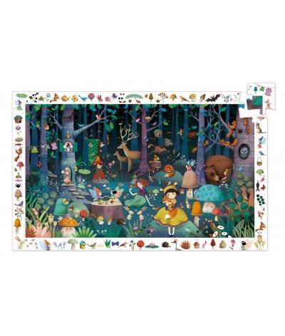 Djeco Djeco puzzel Het betoverde bos - 100 stukjes