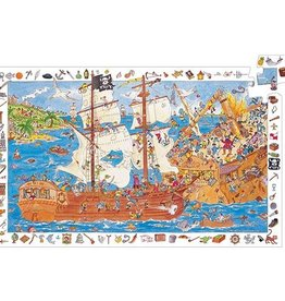 Djeco Discovery puzzle Piratenschip