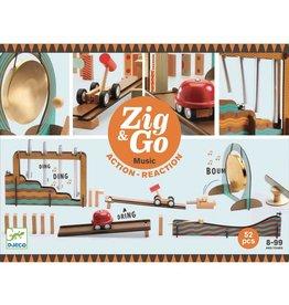 Djeco Zig & Go actie/reactie baan Music (52 stuks)