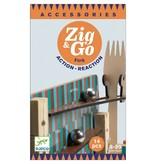Djeco Zig & Go actie/reactie baan uitbreiding Fork