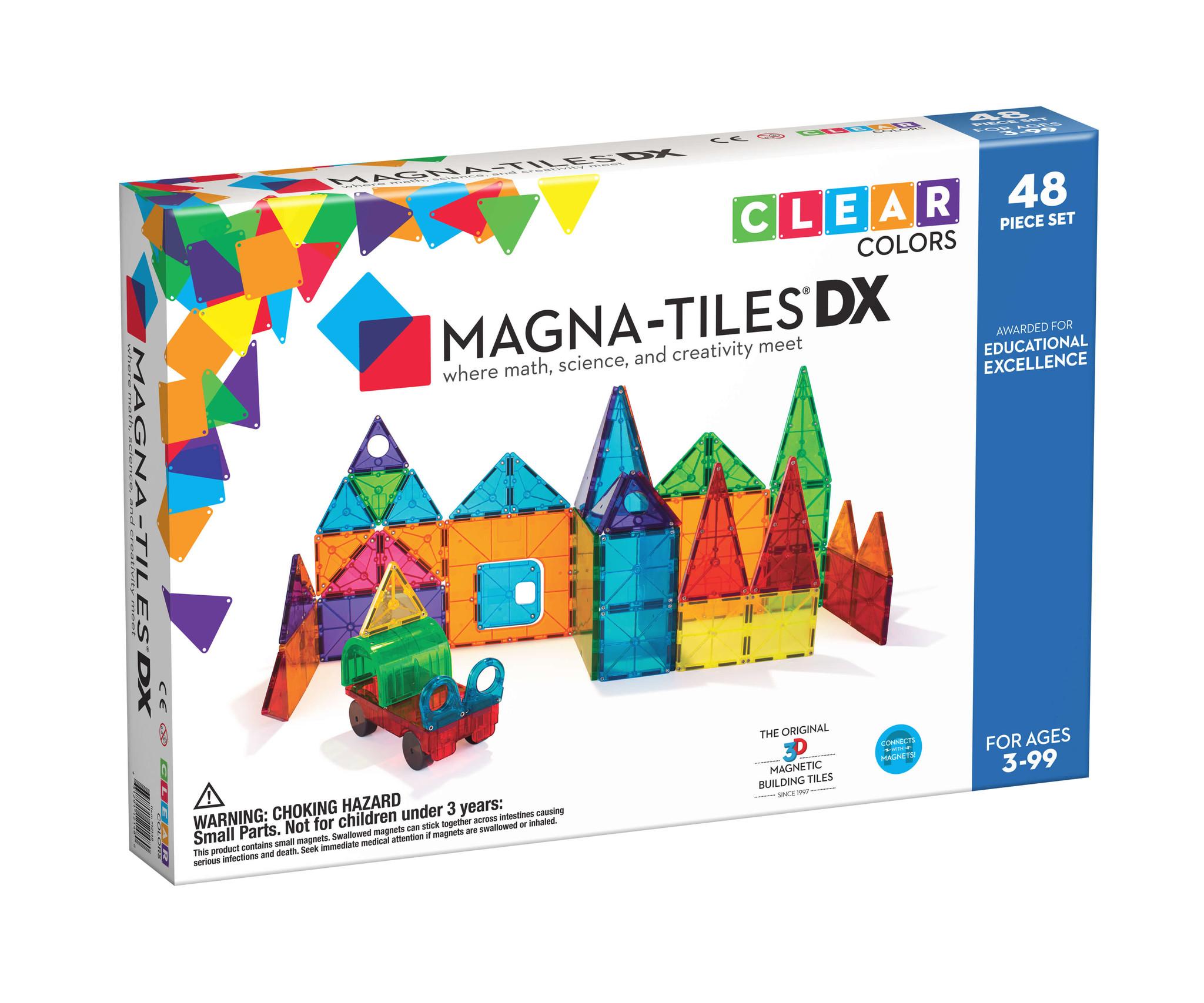 Magna-Tiles Magna-Tiles Clear colours 48 dlg