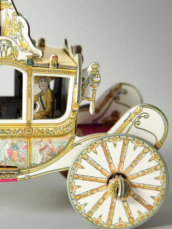 Piet Design Piet Design Gouden Koets