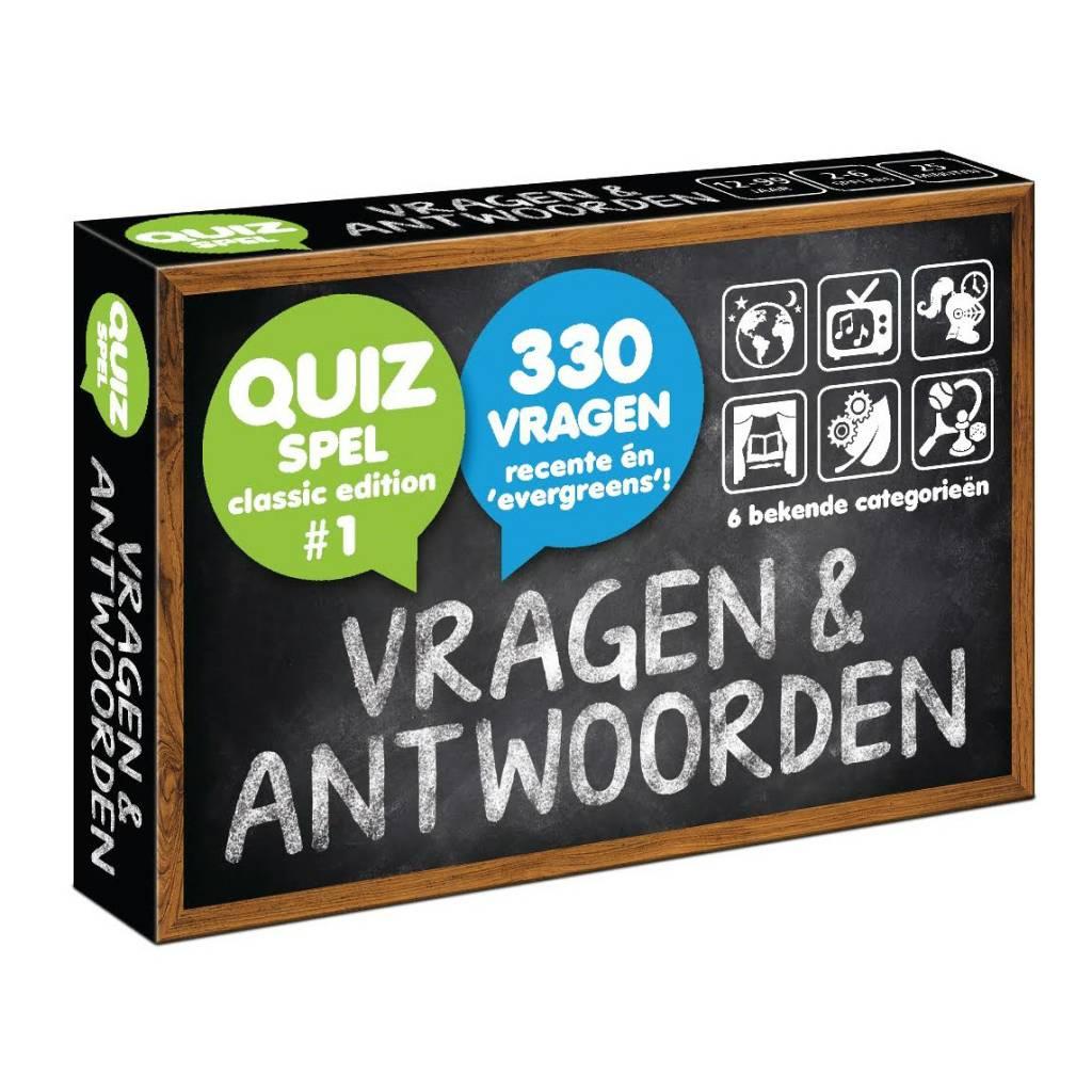 Vragen en antwoorden (quiz-kaarten-spel)