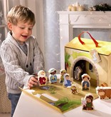 """HABA Kerststal Haba """"Mijn eerste kerststal"""""""