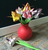 Vouw een bos tulpen