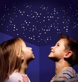 Glow in the dark sterren stickervel