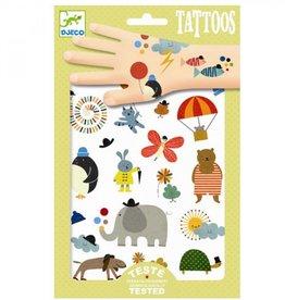 Djeco Djeco Tatoeages - Mooie dingetjes