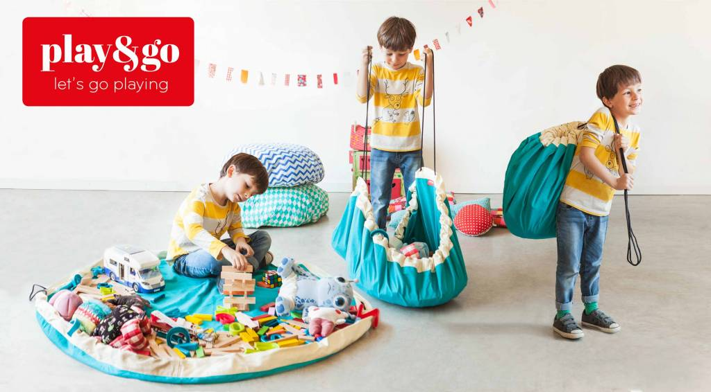 Play & Go Play & go Speelmat en Opbergzak - Diamond Grey
