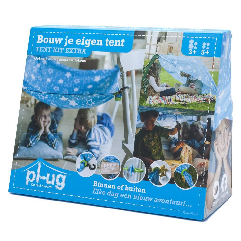 Pl-ug. Bouw je eigen tent (tent kit extra)