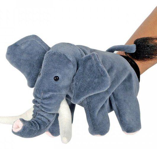 Handpop (knuffel) Olifant