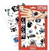 Djeco Djeco Tatoeages - Piraten