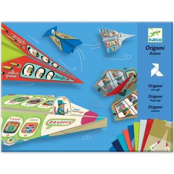 Djeco Djeco Vliegtuigen Vouwen (origami)