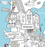 Very Mappy Speel- & Kleurplaat Nederland