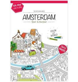 Very Mappy Very Mappy Speel- & Kleurplaat Amsterdam