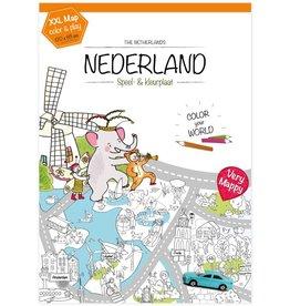Very Mappy Very Mappy Speel- & Kleurplaat Nederland