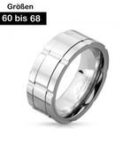 Edelstahring für Herren 60-68 mm