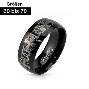 Edelstahl Ring 60-70 mm