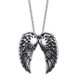 Kettenanhänger Doppel Flügel