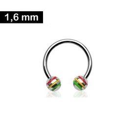 1,6 mm Circular Barbell