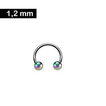 Lippenpiercing Ring 1,2 mm