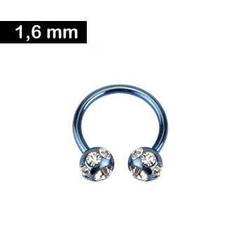 1,6 mm - Intimpiercing Ring
