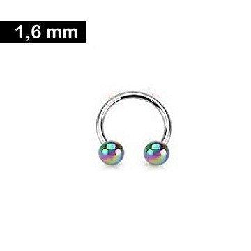 1,6 mm Hufeisenring - Brustpiercing