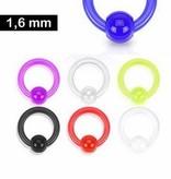 1,6 mm Kunststoffring - 7 Farben