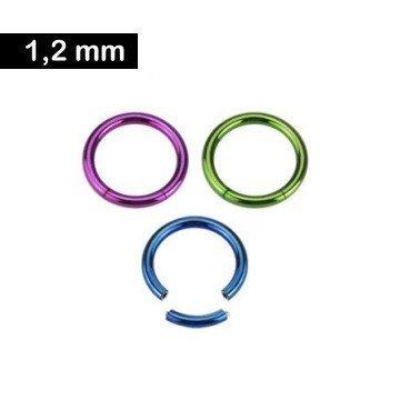 Segmentring 1,2 mm - 3 Farben