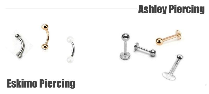 Eskimo Piercing und Ashley Piercing