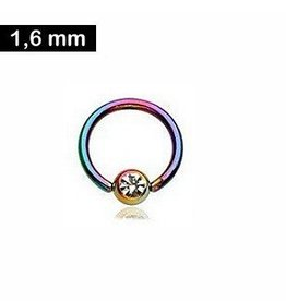 1,6 mm Piercingring