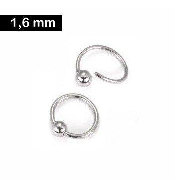1,6 mm BCR-Ring mit Spiralverschluss