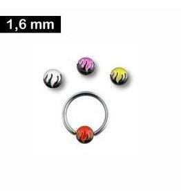 BCR Piercingring 1,6 mm