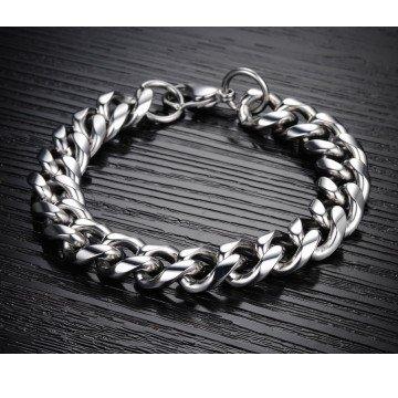 Herren Edelstahl Armband
