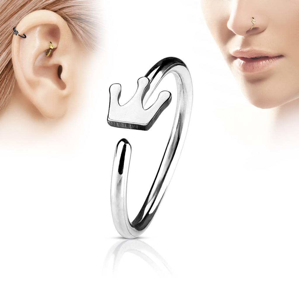 Continuous Ring - Piercing Ring für die Nase