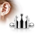 Helix Piercing Krone aus Chirurgenstahl