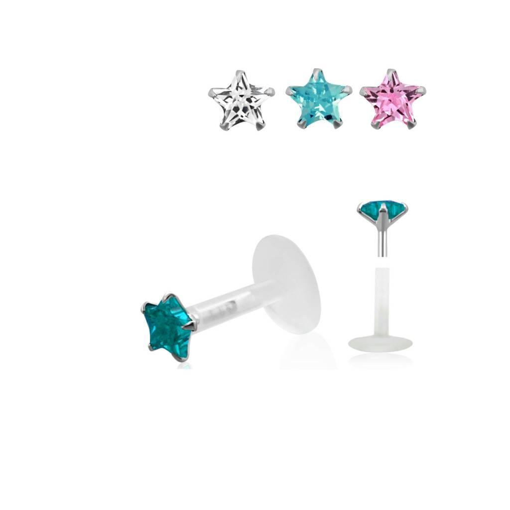 Labret Piercing Schmuck - 3 Farben lieferbar