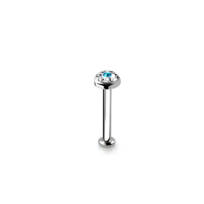 Tragus Piercing mit 3mm kristall Zirkoniastein