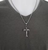 Kettenanhänger Kreuz aus Edelstahl 316l