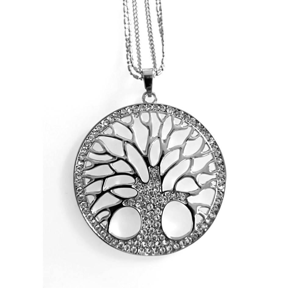 Damen Halskette Lebensbaum