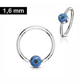 1,6mm Piercing Ring  Auge